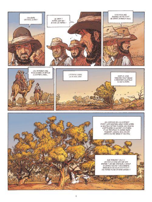 Burke & Wills : Australie, 1860 : l'impossible traversée (0), bd chez Glénat de Sergeef, Pezzi, Labriet