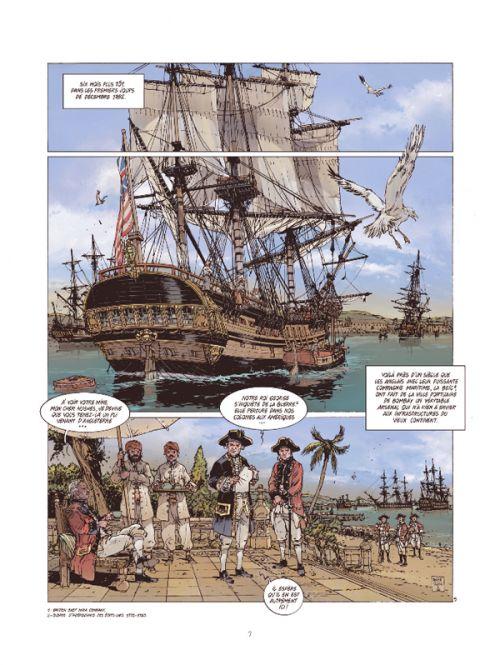 Les Grandes batailles navales T15 : Gondelour (0), bd chez Glénat de Delitte, Delitte