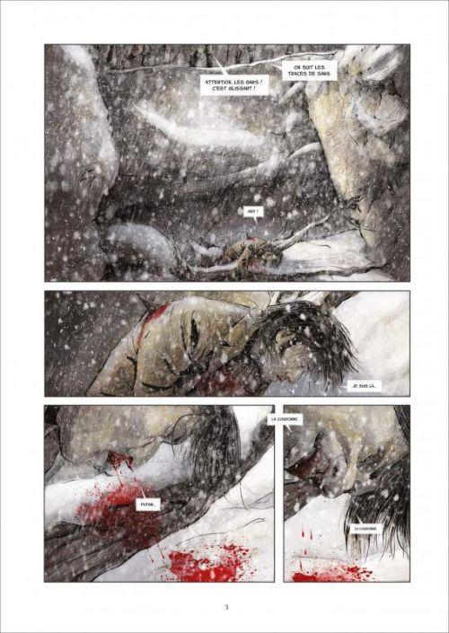 NoBody – cycle 2 : Saison, T2 : Les loups (0), bd chez Soleil de de Metter