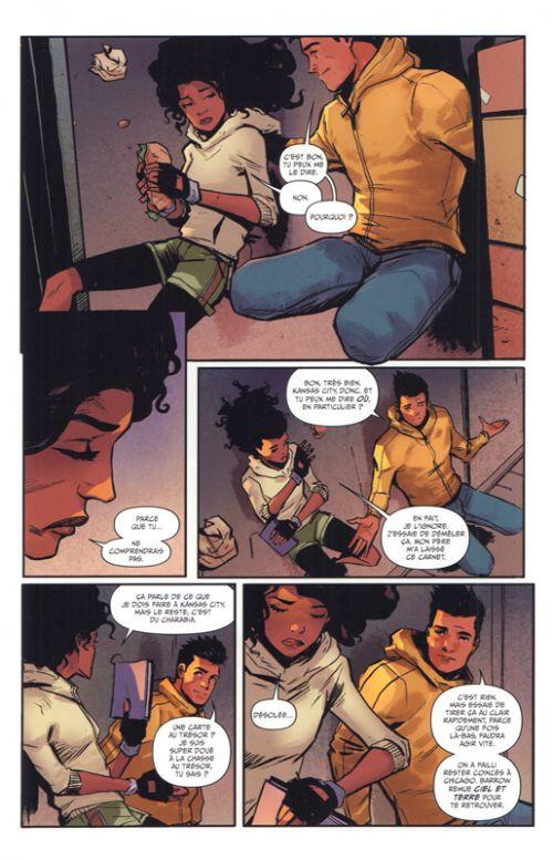 Skyward T2 : Là où naissent les libellules (0), comics chez Hi Comics de Henderson, Garbett, Fabela