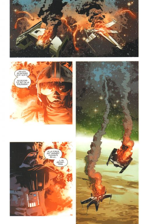 Star Wars : Dark Vador abattu, comics chez Panini Comics de Aaron, Gillen, Yu, Larroca, Unzueta, Deodato Jr, Delgado, Keith, Martin, Mounts, Brooks