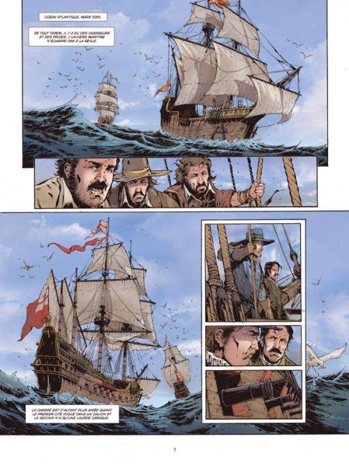Les Grandes batailles navales T16 : Graveline - L'Invincible Armada (0), bd chez Glénat de Baiguera, Delitte, Bechu