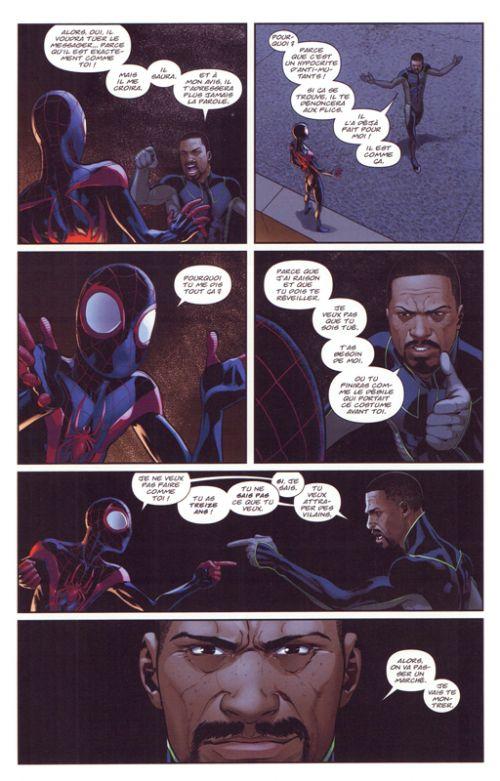 Miles Morales Spider-Man , comics chez Panini Comics de Bendis, Pichelli, Marquez, Samnee, Ponsor, Andrews