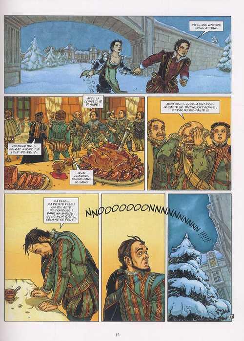 Le bois des vierges T1 : Hache (0), bd chez Delcourt de Dufaux, Tillier