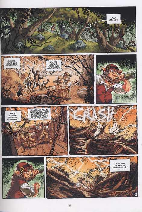 Les larmes de fées T2 : La Complainte des Morriganes (0), bd chez Soleil de Debois, Jimenez