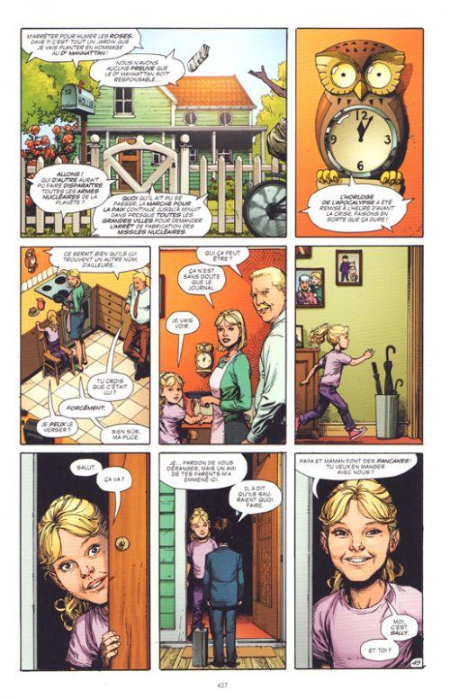 Doomsday clock , comics chez Urban Comics de Johns, Frank, Anderson