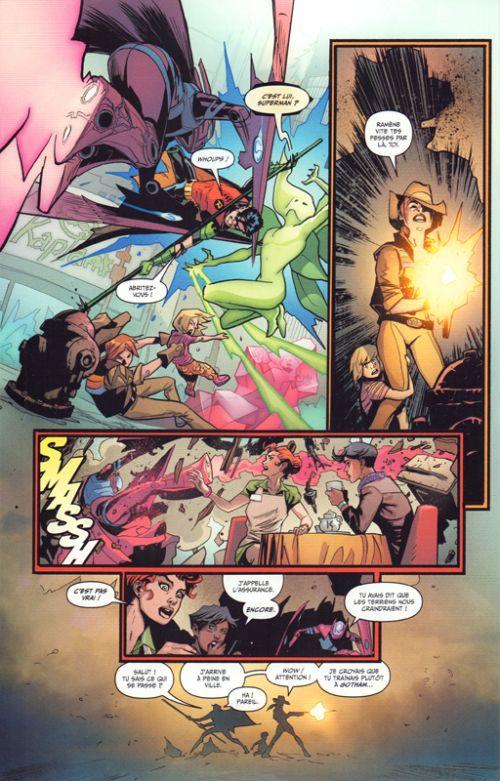 Young Justice T1 : Prisonniers de Gemworld (0), comics chez Urban Comics de Bendis, Shaner, Lupacchino, Bogdanovic, Anka, Gleason, Timms, Sanchez, Sinclair, Eltaeb, Hi-fi colour, Jimenez