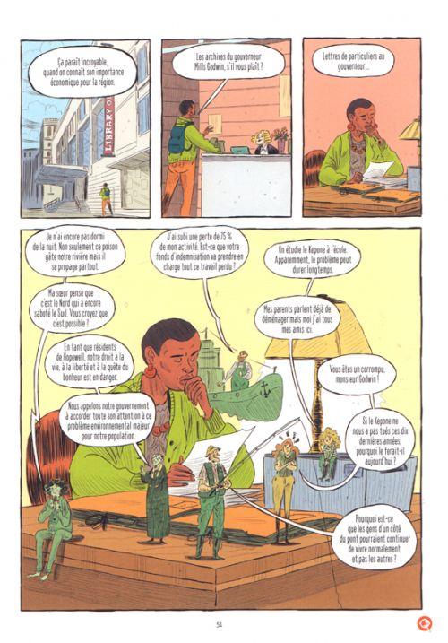 Tropiques Toxiques, bd chez Steinkis de Oublié, Gobbi