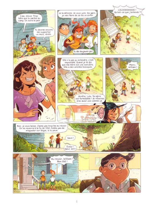 Défense d'entrer T2 : Le fantôme du lac (0), bd chez Kennes éditions de Héroux, Morival, Guarino