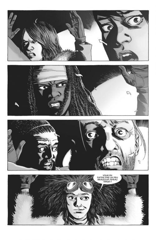 Walking Dead T15, comics chez Delcourt de Kirkman, Gaudiano, Adlard