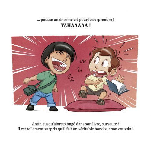 Anto et Antin T1 : Même pas peur ! (0), bd chez Dupuis de Dequier
