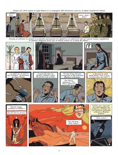 Blake & Mortimer T27 : Le Cri du Moloch (0), bd chez Blake et Mortimer de Dufaux, Cailleaux, Schréder