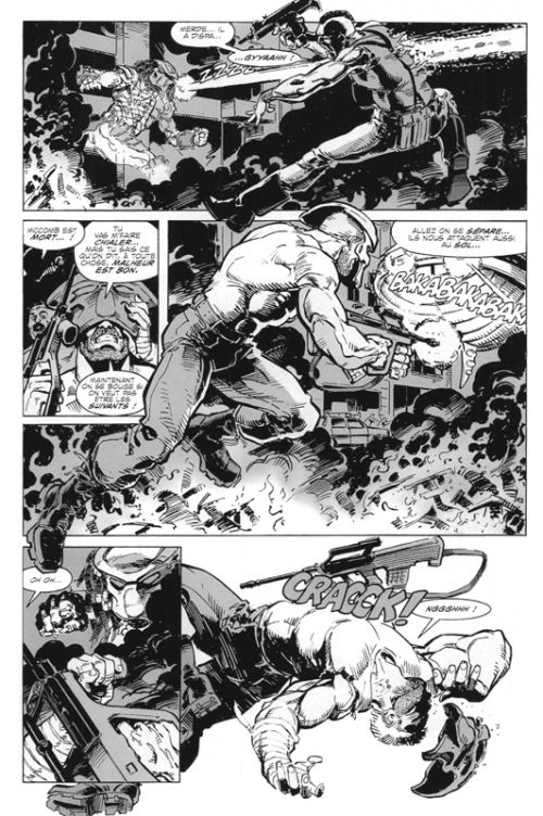 Predator : Concrete Jungle, comics chez Vestron de Verheiden, Warner, Randall, De La Rosa, Beauvais
