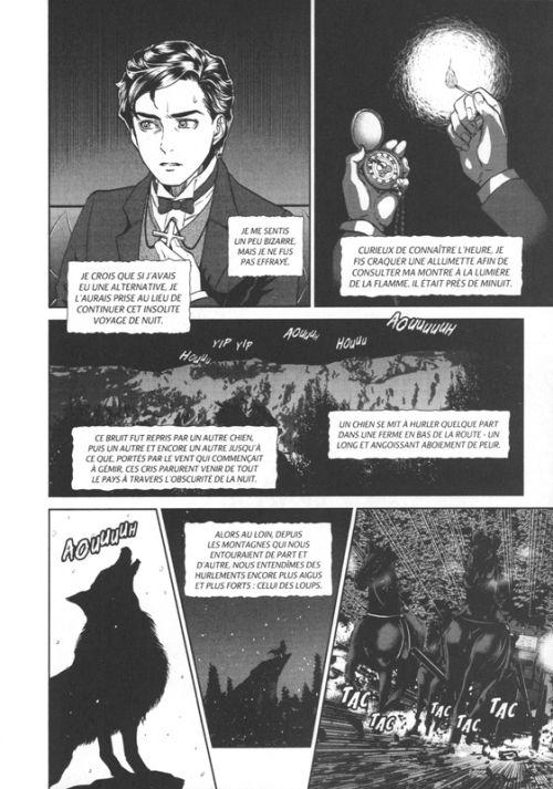Dracula, manga chez Nobi Nobi! de Nitouhei, Stocker