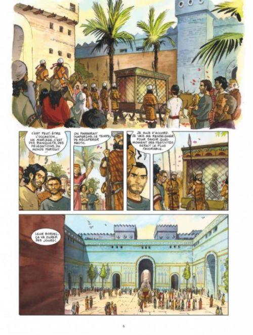 Le Roi de paille T2 : Le couronnement de la reine morte (0), bd chez Dargaud de Dethan