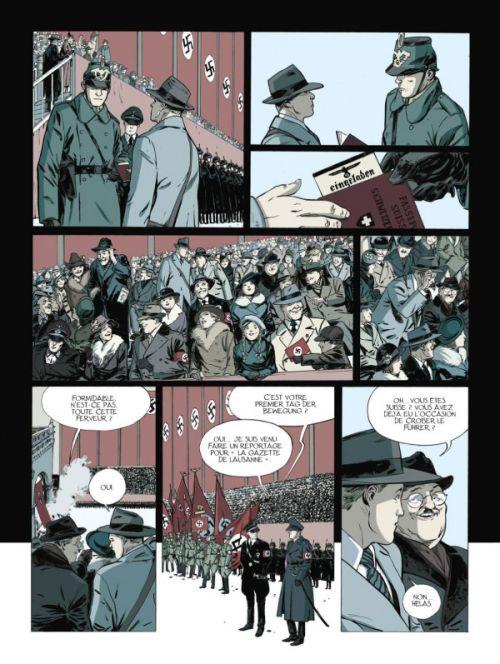 La Part de l'ombre T1 : Tuer Hitler (0), bd chez Glénat de Perna, Ruizge, Delf