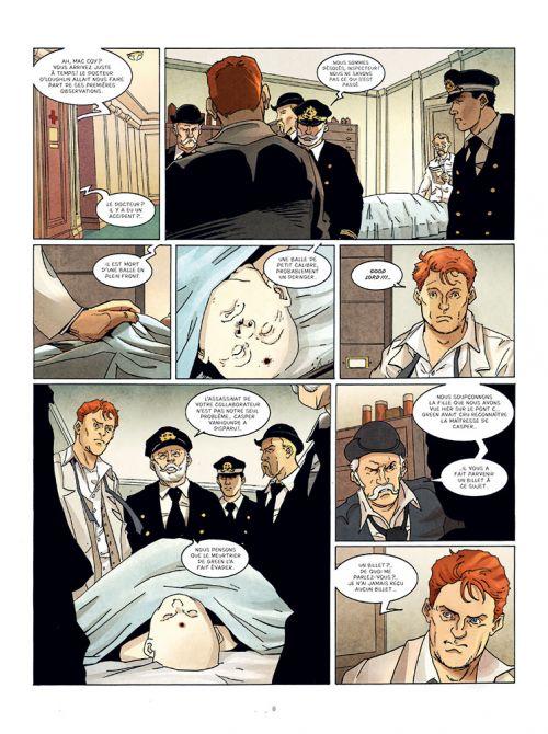 Les Fantômes du passé T2 : L'ange noir du Titanic (0), bd chez Paquet de Seiter, Brahy, Alquier