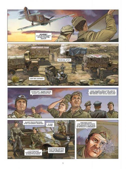 Afrikakorps T2 : Operation Crusader (0), bd chez Paquet de Speltens