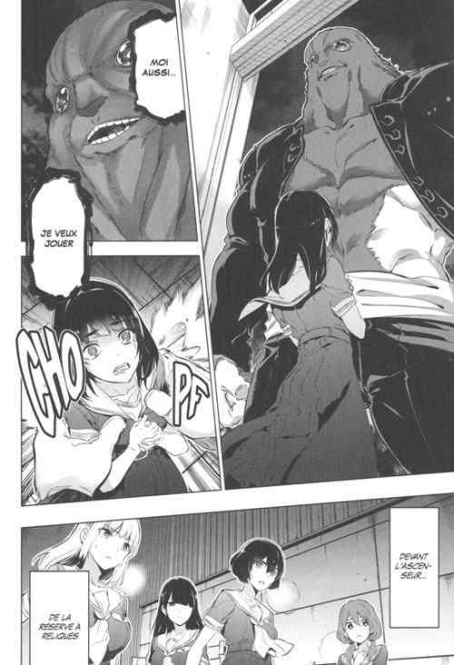 Kaijin Reijoh T3, manga chez Kurokawa de Tashiro