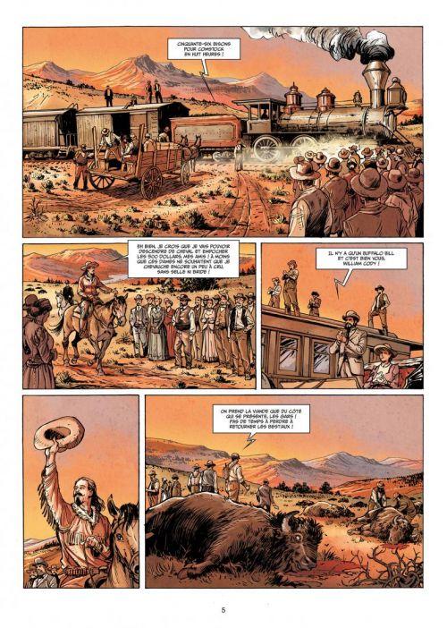 West legends T4 : Buffalo Bill - Yellowstone (0), bd chez Soleil de Duval, Fattori, Cordurié