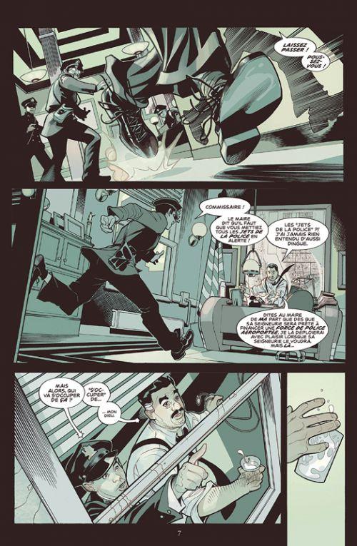 Adventureman T1 : La Fin et tout ce qui s'ensuit (0), comics chez Glénat de Fraction, Dodson, Dodson