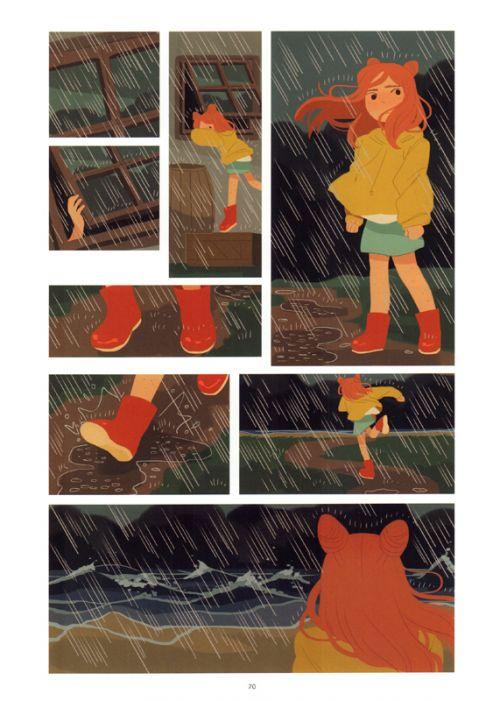 La Baie de l'aquilicorne, comics chez Bliss Comics de O'Neill