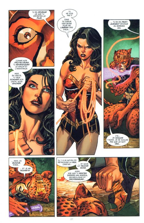 Wonder Woman Guerre et amour T2, comics chez Urban Comics de Orlando, Wilson, Lopresti, Mendonca, Eaton, Raapack, Merino, Garbett, McKeown, Derenick, Xermanico, Cifuentes, Eltaeb, Fajardo Jr, Frison