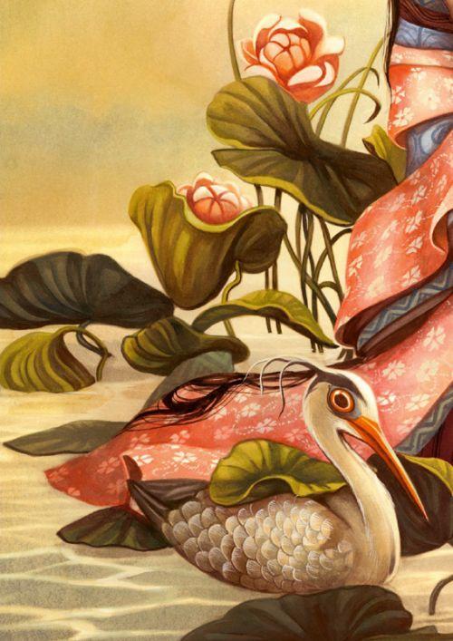 Esprits & Créatures du Japon, bd chez Soleil de Lacombe