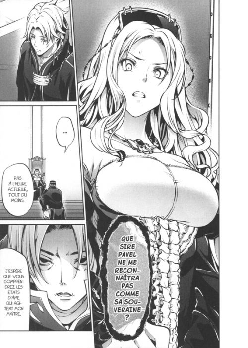 Record of Grancrest war T6, manga chez Pika de Mizuno , Mikuni