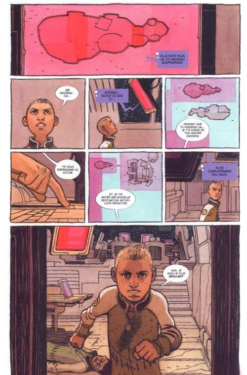 Sentient, comics chez Panini Comics de Lemire, Hernandez Walta