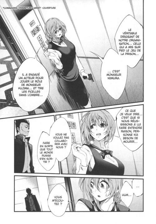 Prison lab T10, manga chez Panini Comics de Kantetsu, Minase