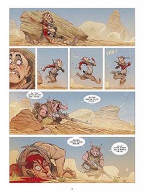 Solo T5 : Marcher sans soulever de poussière (0), comics chez Delcourt de Martin