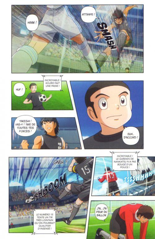 Captain Tsubasa Anime comics – Saison 1, T2, manga chez Nobi Nobi! de Takahashi, DAVID Production