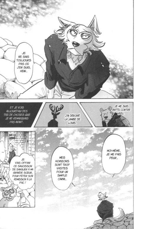 Beastars T14, manga chez Ki-oon de Itagaki