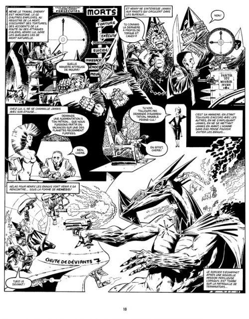 Nemesis le Sorcier T2 : Les Hérésies Complètes (0), comics chez Delirium de Mills, O'Neill, Luke, Hicklenton, Talbot