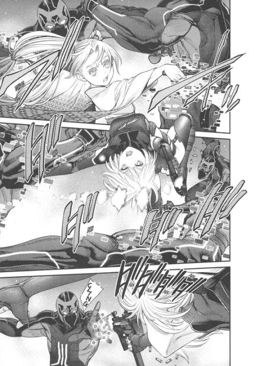 Ex-Arm T12, manga chez Delcourt Tonkam de Hirock, Komi