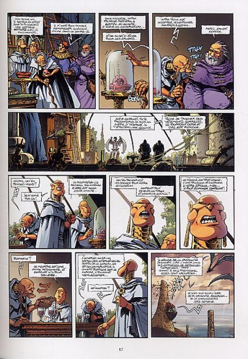 Lanfeust de Troy – cycle 1, T2 : Thanos l'incongru (0), bd chez Soleil de Arleston, Tarquin, Livi