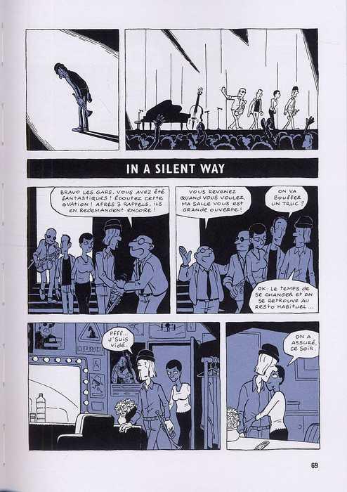 Somewhere else : Jazz, confidences et oreilles de lapin (0), bd chez Milan de Jousselin