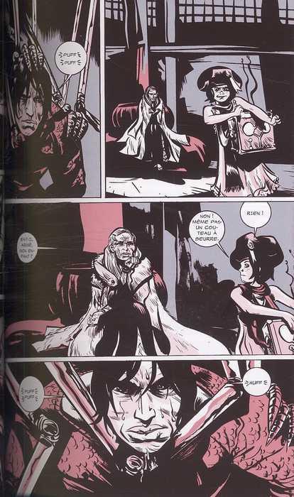 Heavy liquid, comics chez Dargaud de Pope