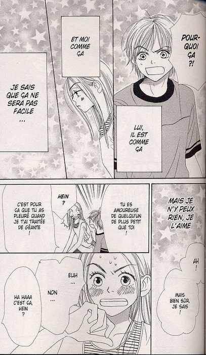 Lovely complex T4, manga chez Delcourt de Nakahara