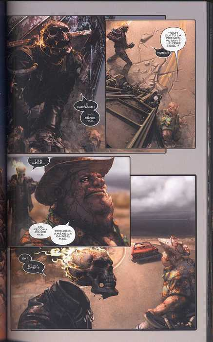 Ghost Rider T2 : Enfer et damnation (0), comics chez Panini Comics de Ennis, Crain