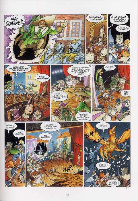 De cape et de crocs – cycle 1, T8 : Le Maître d'armes (0), bd chez Delcourt de Ayroles, Masbou