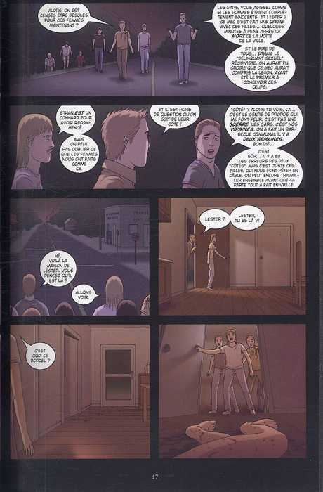 Girls T4 : Extinction (0), comics chez Delcourt de Luna, Luna