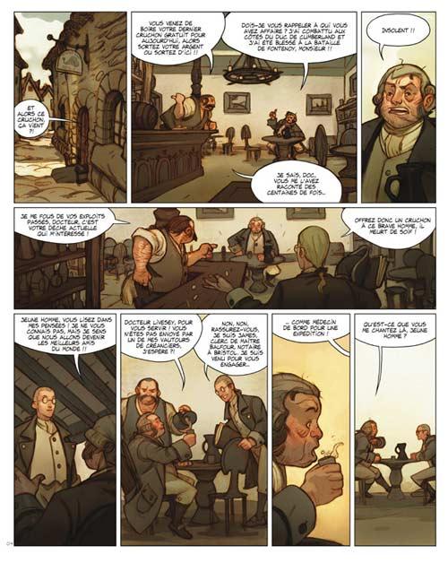 7 pirates, bd chez Delcourt de Bertho, McBurnie