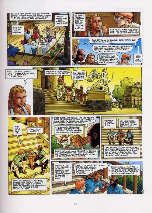 Golden city T7 : Les enfants perdus (0), bd chez Delcourt de Pecqueur, Malfin, Schelle