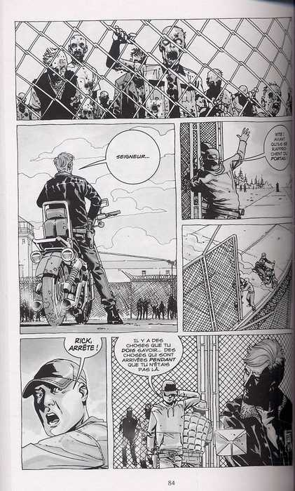 Walking Dead T3 : Sains et saufs (0), comics chez Delcourt de Kirkman, Adlard, Rathburn, Moore