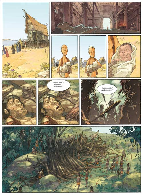 Alim le tanneur T3 : La Terre du prophète pâle (0), bd chez Delcourt de Lupano, Augustin