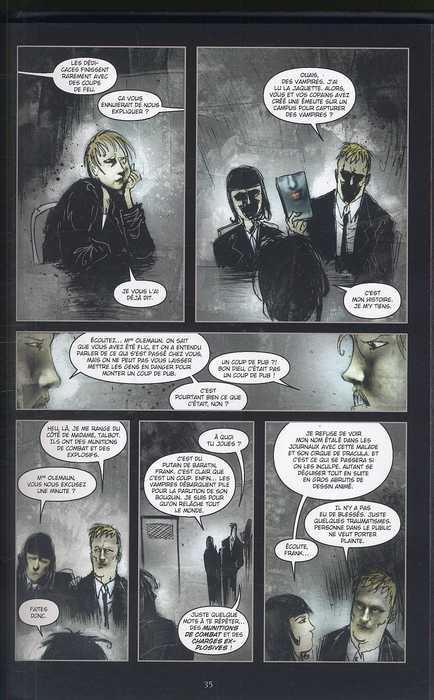 30 jours de nuit T2 : Jours sombres (0), comics chez Delcourt de Niles, Templesmith