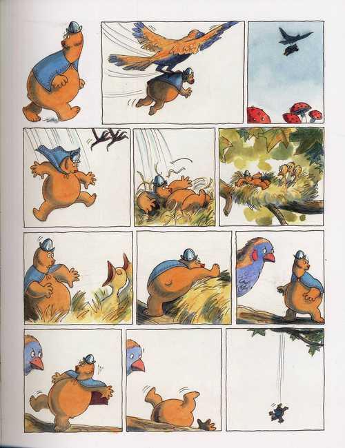L'ours et le petit garçon T2 : La nuit des chevaliers (0), bd chez Dargaud de Rogers