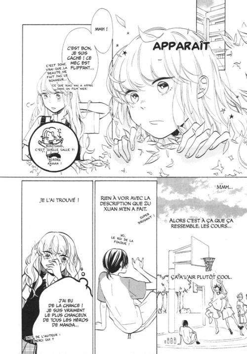 Ocean colored polaris, manga chez Chatto chatto de Yushi